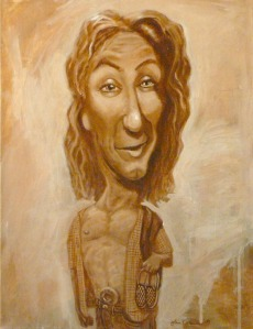 Portrait of Jeff Spicoli by John Kurien