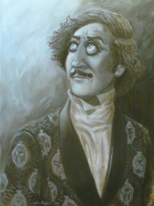 Portrait of Gene Wilder by John Kurien